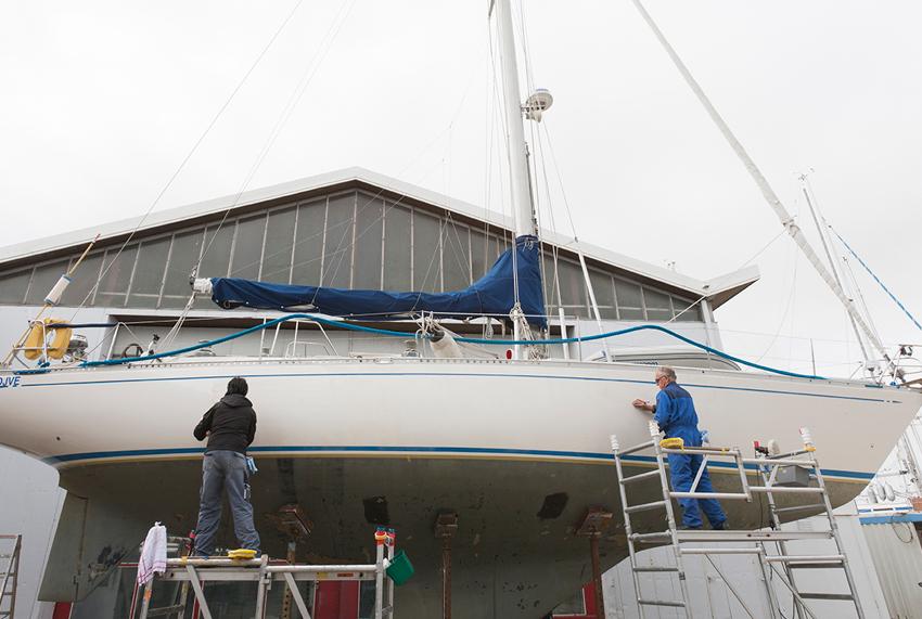 check up winterberging Jachthaven Hindeloopen