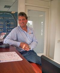 Havenmeester Jeroen Mulder