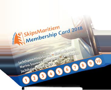 Membershipcard SkipsMaritiem