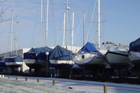 Winterberging Jachthaven Hindeloopen